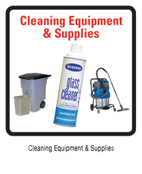 CLEANING EQUIPMENT & SUPPLIES