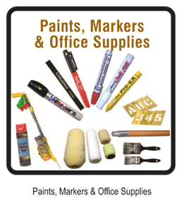 PAINTS, MARKERS & OFFICE SUPPLIES