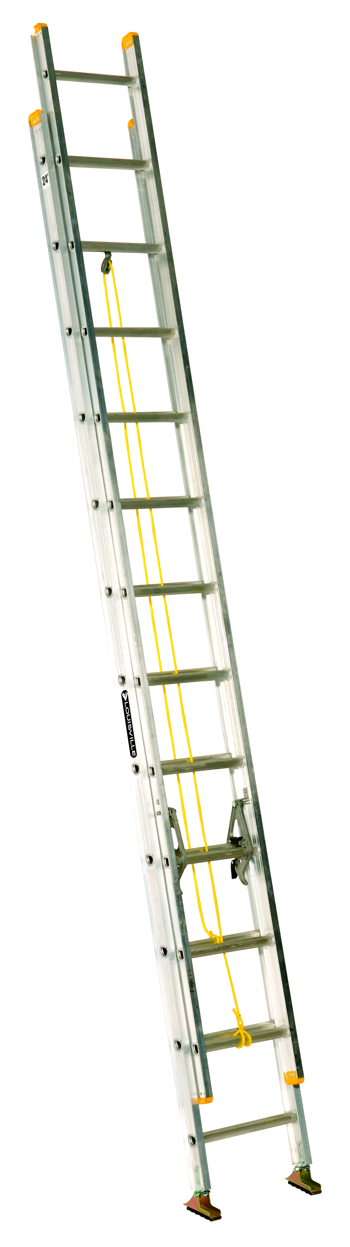 14 Aluminum Extension Ladder : Ladders scaffolding tool storage extension