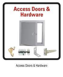ACCESS DOORS & HARDWARE