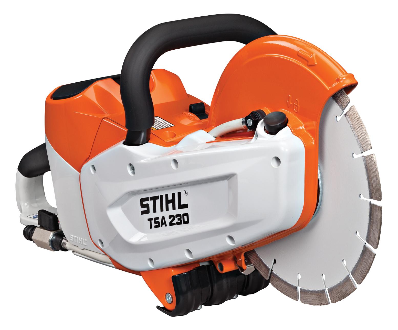 POWER EQUIPMENT   Concrete Cutting Equipment   TSA230 Stihl ...
