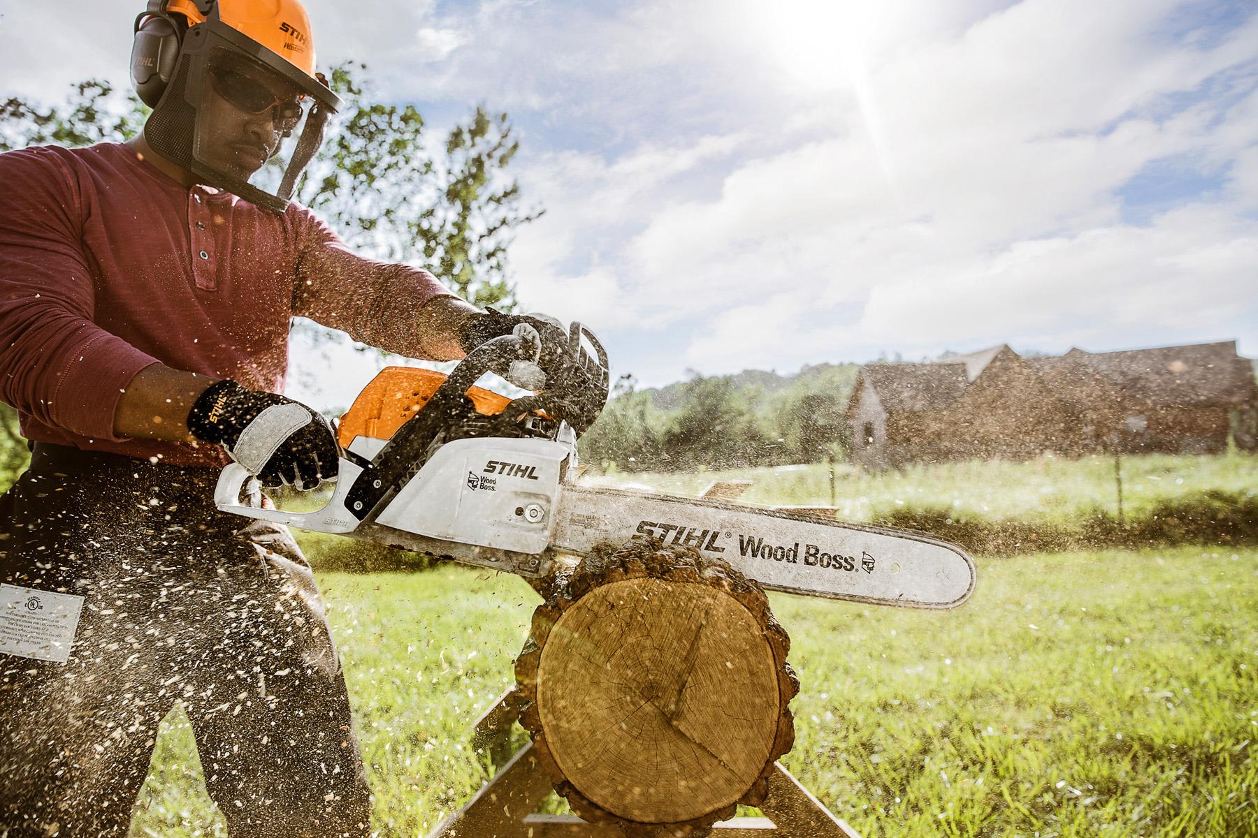 POWER EQUIPMENT   Chain Saws   Stihl MS 251 WOOD BOSS® Chainsaws