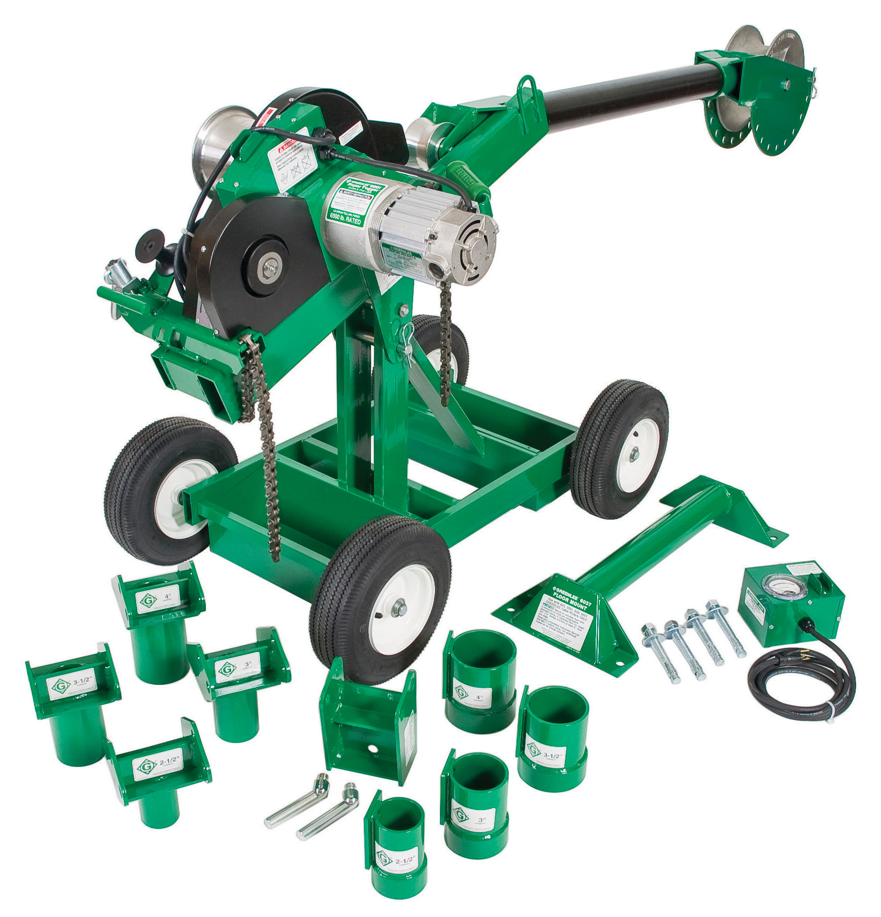 ELECTRICAL TOOLS & ACCESSORIES | Cable Puller Packages | Greenlee ...