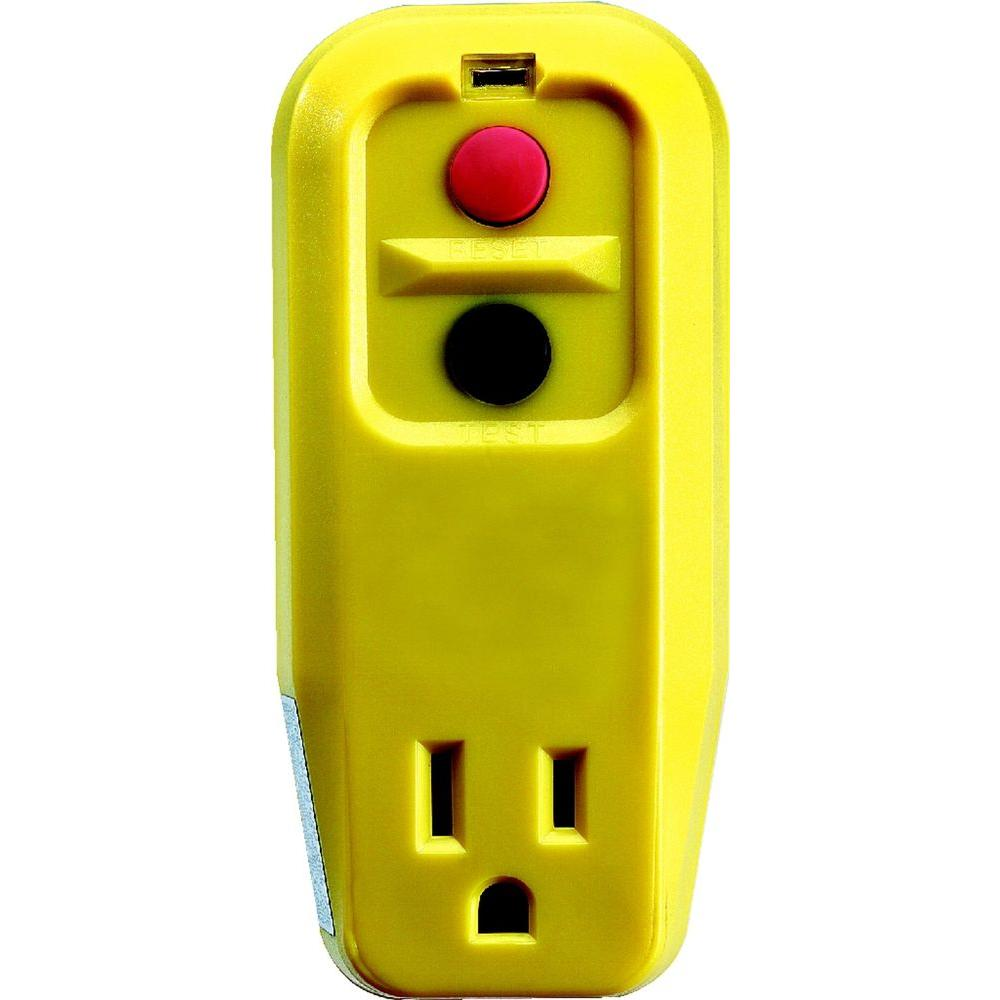 Jobsite Protection Ground Fault Circuit Interrupters Gfci Single Groundfault Interrupter Outlet Click Image To View Full Size Item P12 1199 Adapter