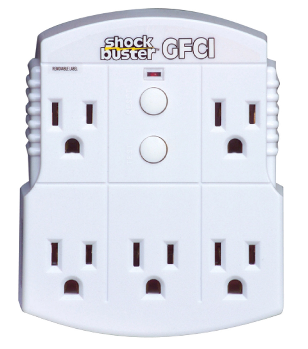 Jobsite Protection Ground Fault Circuit Interrupters Gfci Five Groundfault Interrupter Outlet Click Image To View Full Size Item P12 1201 Adapter