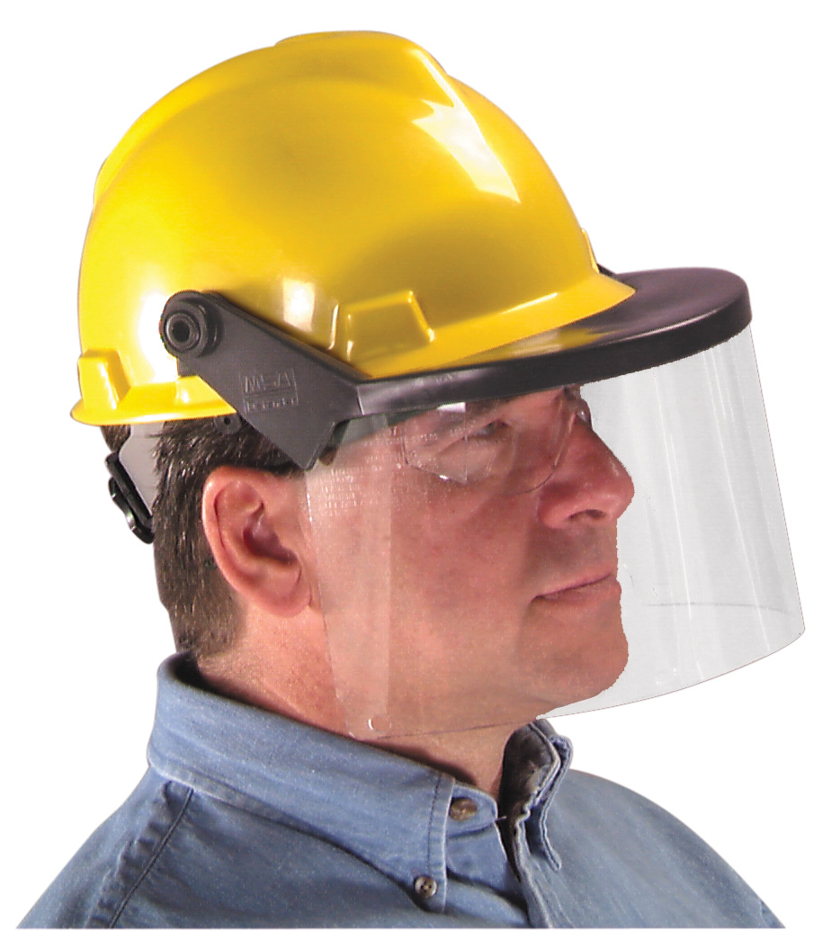 PERSONAL PROTECTIVE EQUIPMENT | Face Shields and Hard Hat