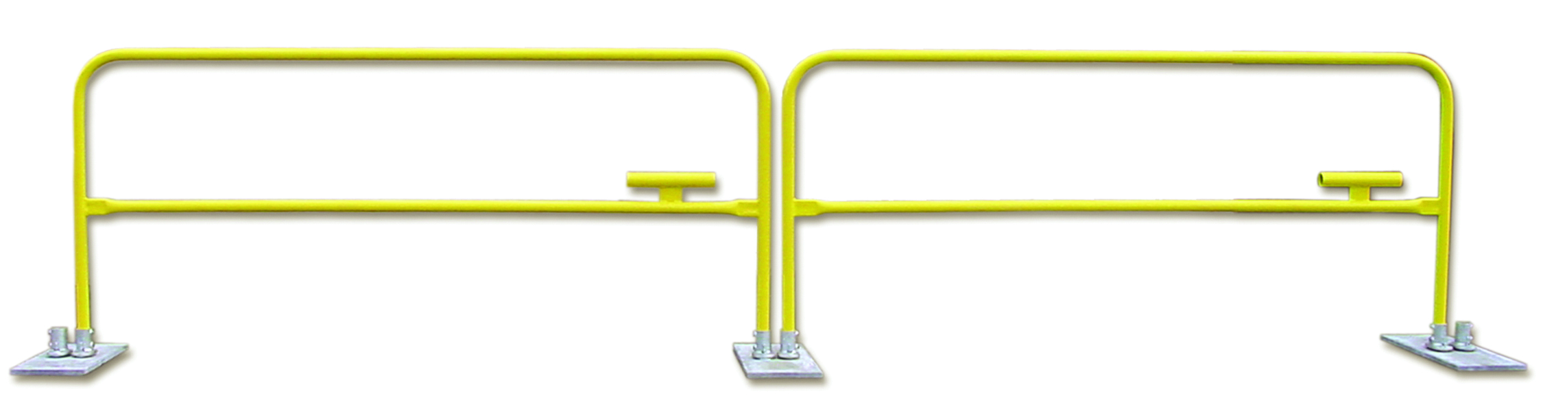 Portable Guard Rails : Personal protective equipment fall protection systems