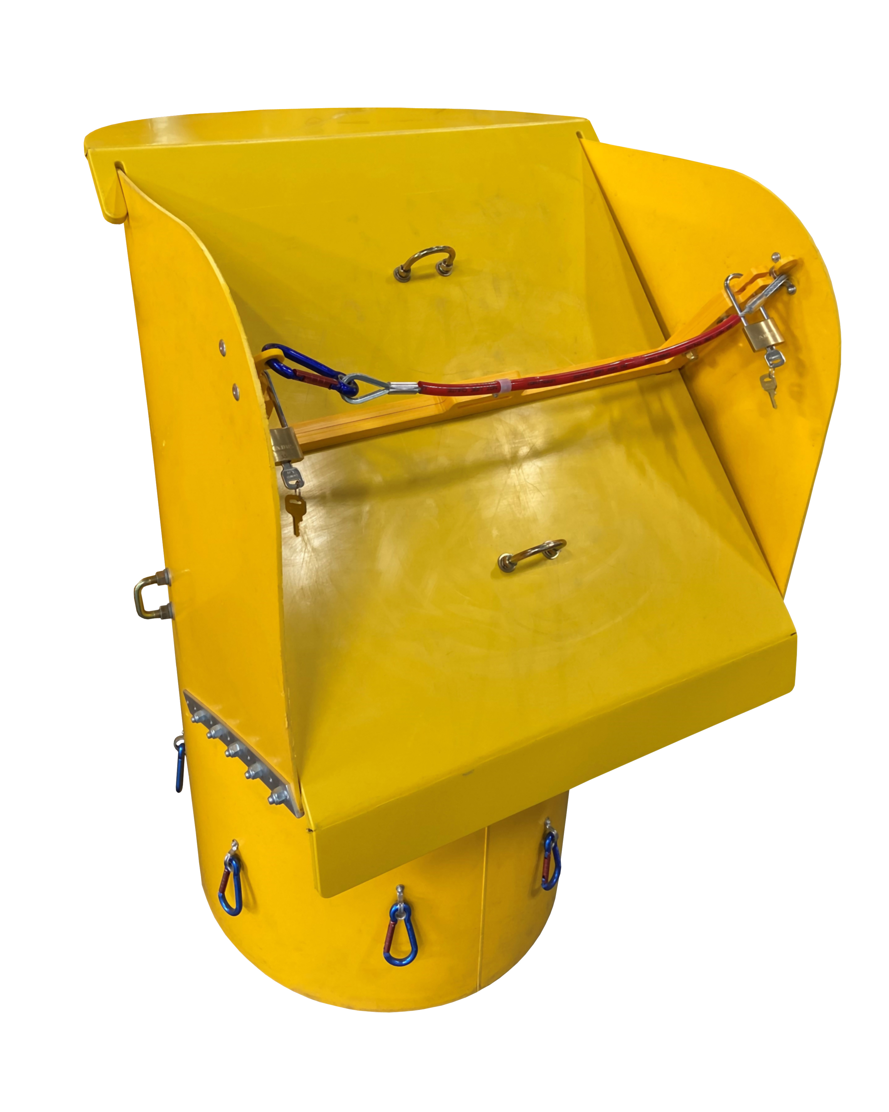 MATERIAL HANDLING & RIGGING   Trash Chutes   Top Hopper